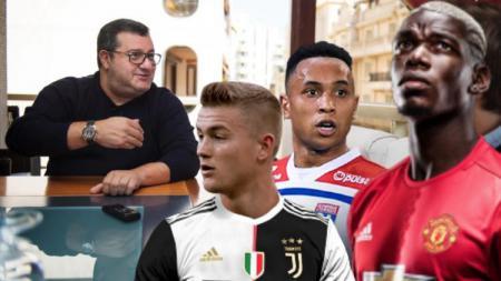 Starting XI Termahal Mino Raiola di Bursa Transfer - INDOSPORT