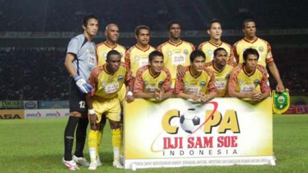 Sriwijaya FC kala berlaga di Copa Indonesia 2007. - INDOSPORT