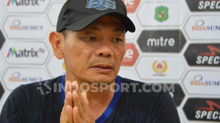 Pelatih Blitar Bandung United, Liestiadi. - INDOSPORT