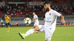 Indosport - Mario Fontanella bersama klubnya Valletta FC.