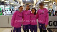 Indosport - Cupcakes, salah satu tim yang ikut IBL Gojek Seri Yogyakarta dalam kategori open women.