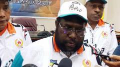 Indosport - Sekretaris Umum KONI Papua, Kenius Kogoya
