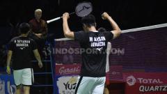 Indosport - Rekor pertemuan yang membuktikan kalau Muhammad Ahsan/Hendra Setiawan ternyata jauh lebih perkasa dari Lee Yang/Wang Chi-Lin jelang bertemu di semifinal BWF World Tour Finals 2019.