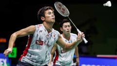 Indosport - Pasangan bulutangkkis Jepang, Takuro Hoki/Yugo Kobayashi ciptakan sejarah di ranking dunia BWF.