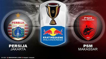 Final Kratingdaeng Piala Indonesia 2018/19: Persija Jakarta vs PSM Makassar - INDOSPORT