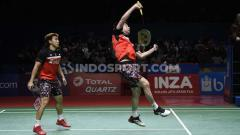 Indosport - Jadwal pertandingan wakil Indonesia di turnamen bulu tangkis China Open 2019 babak semifinal, Sabtu (21/9/19), di Olympic Sports Center Gymnasium, China.