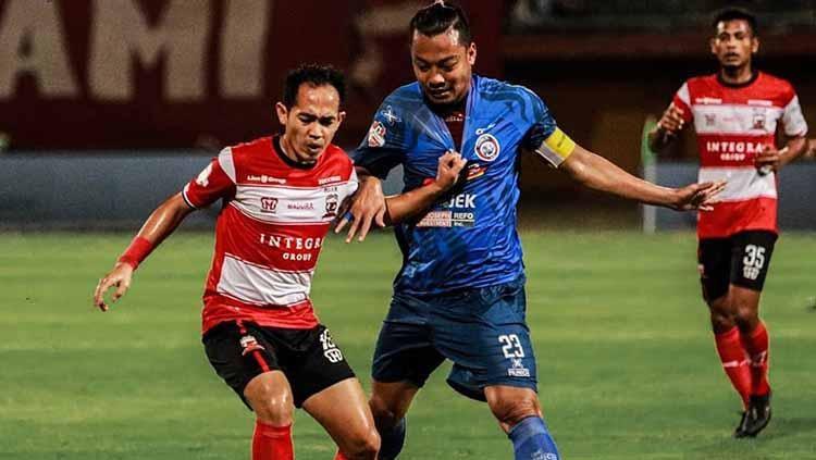 Madura United vs Arema FC Copyright: Instagram/@maduraunited.fc
