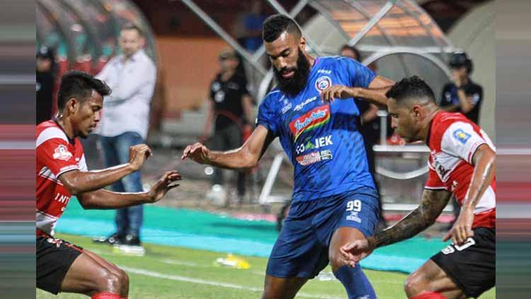 Madura United vs Arema FC Copyright: Instagram/@aremafcofficial