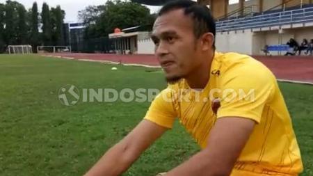 Airlangga Sucipto, striker Sriwijaya FC - INDOSPORT