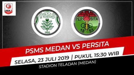 Pertandingan PSMS Medan vs Persita Tangerang di Liga 2 2019. - INDOSPORT