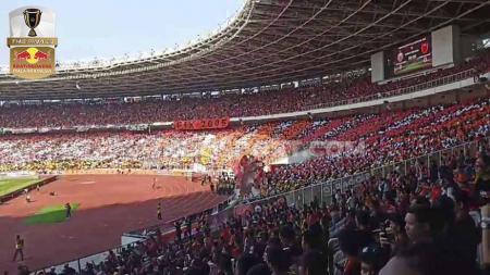 Media Malaysia soroti Stadion Utama Gelora Bung Karno (SUGBK) yang terpilih menjadi stadion terfavorit di Asia Tenggara (ASEAN). - INDOSPORT