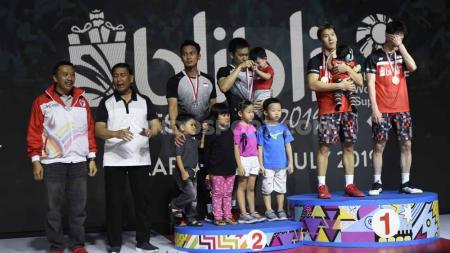 Siapa sangka kalau ternyata turnamen Indonesia Open 2007 mungkin menjadi awal dimulainya petaka nihil gelar wakil Indonesia di rumah sendiri?Foto: Herry Ibrahim/INDOSPORT - INDOSPORT