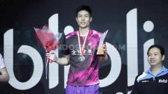 Indosport - Pemain Bulutangkis Tunggal Putra Chinese Taipe, Chou Tien Chen, Berikan Semangat untuk TKI di Taiwan yang Positif Terpapar Virus Corona.