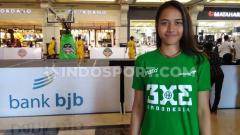 Indosport - Pebasket putri Indonesia yang ikut di Piala Dunia Basket 3x3, Dewa Ayu Made Sriartha Kusuma saat ditemui di IBL Gojek 3x3 seri Yogyakarta, Minggu (21-07-19) di Jogja City Mall.