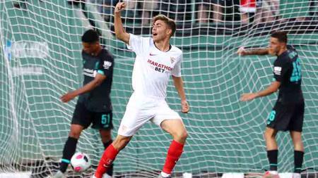 Liverpool alami kekalahan perdana di laga uji coba melawan Sevilla di saat nama Sadio Mane hilang dalam susunan pemain inti The Reds. - INDOSPORT