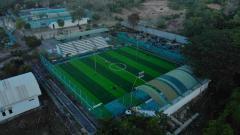 Indosport - Mini soccer field yang jadi tempat latihan Persiba Balikpapan.