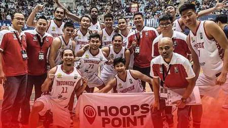 Timnas Basket putra Indonesia mengikuti turnamen Hualien City Kwen Fu 2019 di Taiwan. - INDOSPORT
