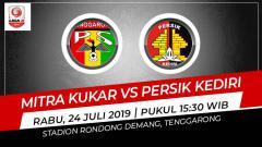Indosport - Prediksi Mitra Kukar vs Persik Kediri