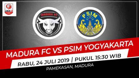 Prediksi Madura FC vs PSIM Yogyakarta - INDOSPORT