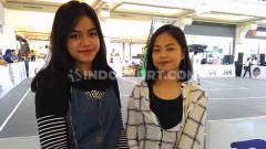 Indosport - Elen dan Jovanda merupakan dua wanita yang menonton IBL Gojek 3x3 seri Yogyakarta.