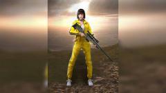 Indosport - Karakter Kelly Awm di game eSPorts Free Fire