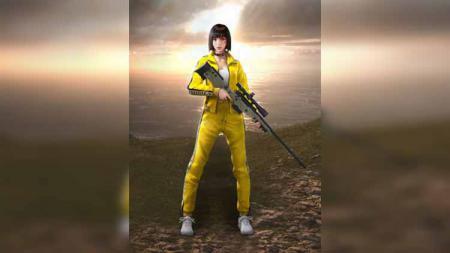 Karakter Kelly Awm di game eSPorts Free Fire - INDOSPORT