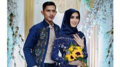 Indosport - Pertunangan Rudi Widodo dengan Dwi Ika Nova.