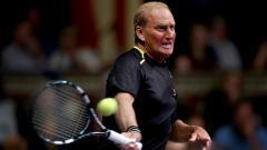 Indosport - Peter McNamara saat masih aktif bermain tenis di tahun 2014