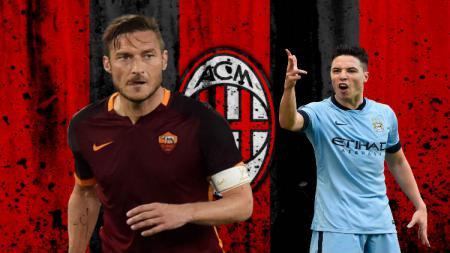 Para pemain yang bernasib nahas setelah menolak pinangan AC Milan. - INDOSPORT