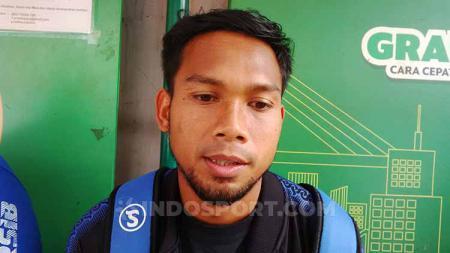 Kapten tim Badak Lampung, Saepulloh Maulana, masih bingung dengan masa depan kompetisi Liga Indonesia. - INDOSPORT