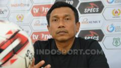 Indosport - Pelatih Persita Tangerang, Widodo Cahyono Putro. (Foto: Aldi Aulia Anwar/INDOSPORT)