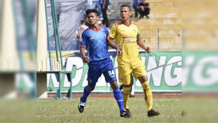 Pertandingan PSPS Riau vs Sriwijaya FC pekan ke-7 Liga 2 2019. Foto: Instagram@pspsriau - INDOSPORT