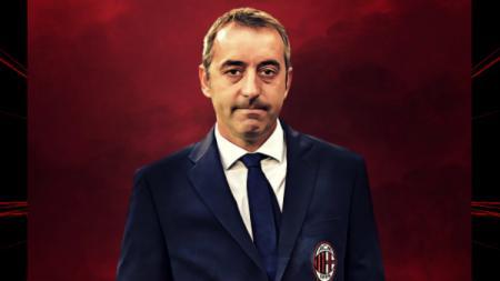Pemain sepak bola AC Milan, Fabio Borini, mengungkapkan satu kelebihan yang dimiliki Marco Giampaolo dibanding Gennaro Gattuso. - INDOSPORT