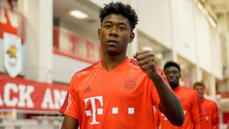 David Alaba, bek kiri Bayern Munchen yang diincar klub raksasa Liga Inggris, Chelsea. - INDOSPORT