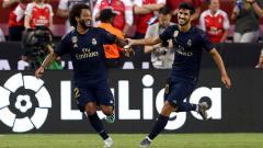 Indosport - Bek Real Madrid, Marcelo larang klubnya merekrut pemain baru karena sudah yakin dengan komposisi tim saat ini.