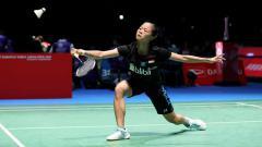 Indosport - Fitriani tersingkir di perempatfinal Thailand Open 2019.