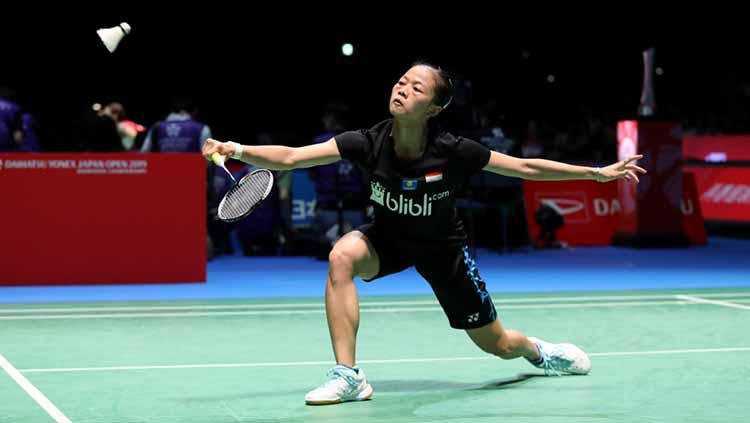 Fitriani tersingkir di Jepang Open 2019. Copyright: humas PBSI