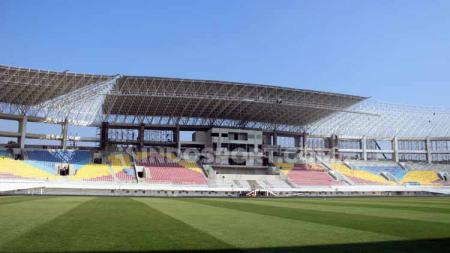 Proses renovasi Stadion Manahan kini sudah mencapai 83 persen. - INDOSPORT