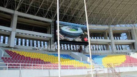 Renovasi Stadion Manahan Solo sudah mencapai 80 persen.