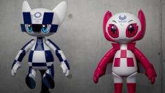 Indosport - Robot Miraitowa, robot yang akan menjadi ikon dari Olimpiade Tokyo 2020