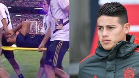 Marco Asensio dan James Rodriguez, dua gelandang Real Madrid - INDOSPORT