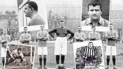 """Indosport - Salah satu pesepakbola profesional berposisi kiper, William """"Fatty"""" Foulke, yang dikenal karena berat badannya yang luar biasa."""