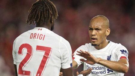 Fabinho, Kepingan Awal dari Kehancuran Liverpool di Liga Inggris Musim Ini. - INDOSPORT