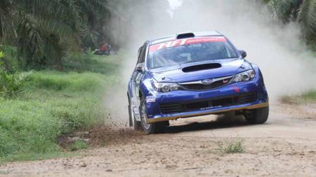 PPotret turnamen reli berskala Internasional, yakni Asia Pacific Rally Championship (APRC) Asia Cup Rd 2 yang akan segera digelar pada Jumat (26/07/19) di Kota Medan, Sumatera Utara. Foto: Humas KaryaKU - INDOSPORT