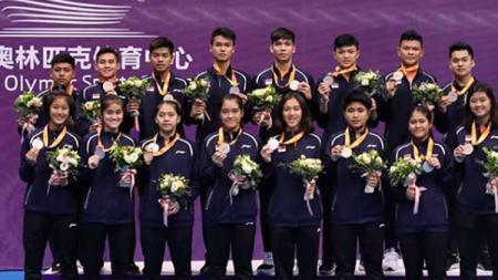 Alumni Badminton Asia Junior Championship 2019 menjadi bagian di skuat Malaysia Junior International Challenge 2019. - INDOSPORT