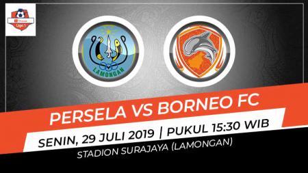 Pertandingan Persela Lamongan vs Borneo FC. - INDOSPORT