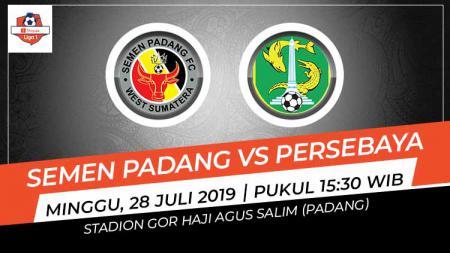 Pertandingan Semen Padang vs Persebaya Surabaya. - INDOSPORT