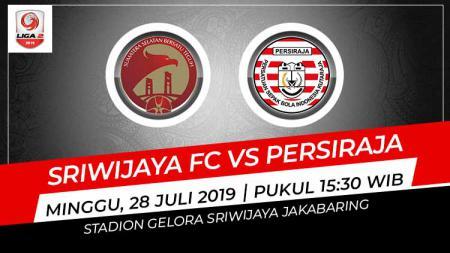 Prediksi pertandingan Sriwijaya FC vs Persiraja Banda Aceh pada pekan ke-8 Liga 2 2019, Minggu (28/07/19), di Stadion Gelora Jakabaring, Palembang. - INDOSPORT