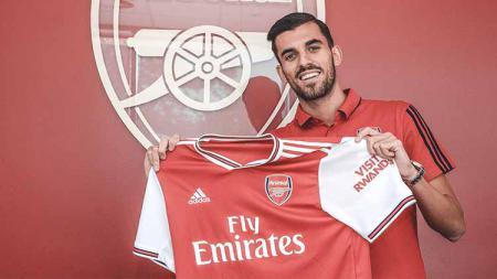 Pemain anyar Arsenal, Dani Ceballos. Foto: Alan Walter - Arsenal FC/Arsenal FC via Getty Images. - INDOSPORT