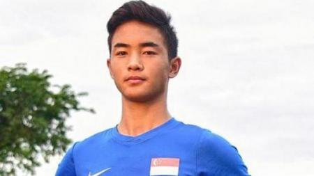Xavier Wong, pemain Timnas Singapura U-15 yang membela Inter Turku. - INDOSPORT